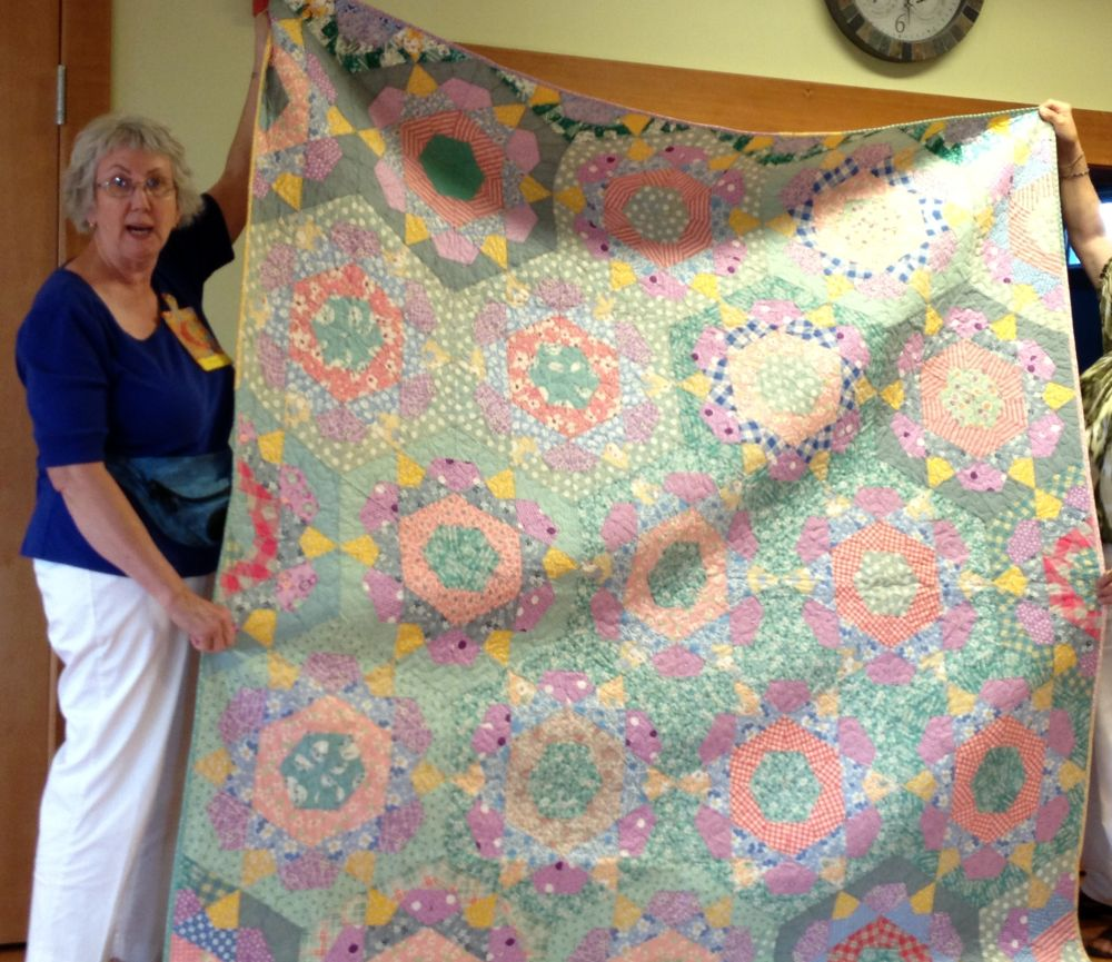 7-13 Florence D Mother's Quilt