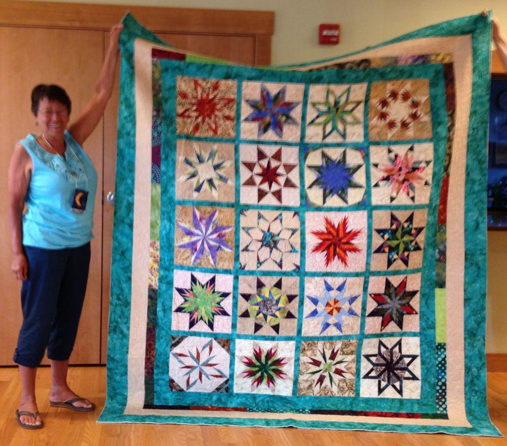 7-13 Judy K Paper Pieced Stars