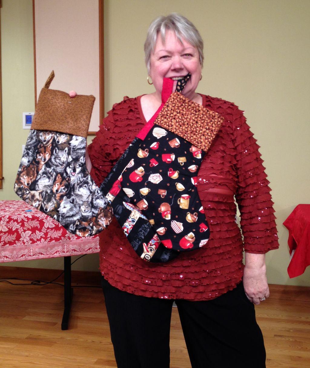 Barbara Christmas Stockings