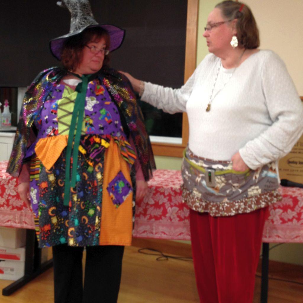 Sharon D Halloween Witch