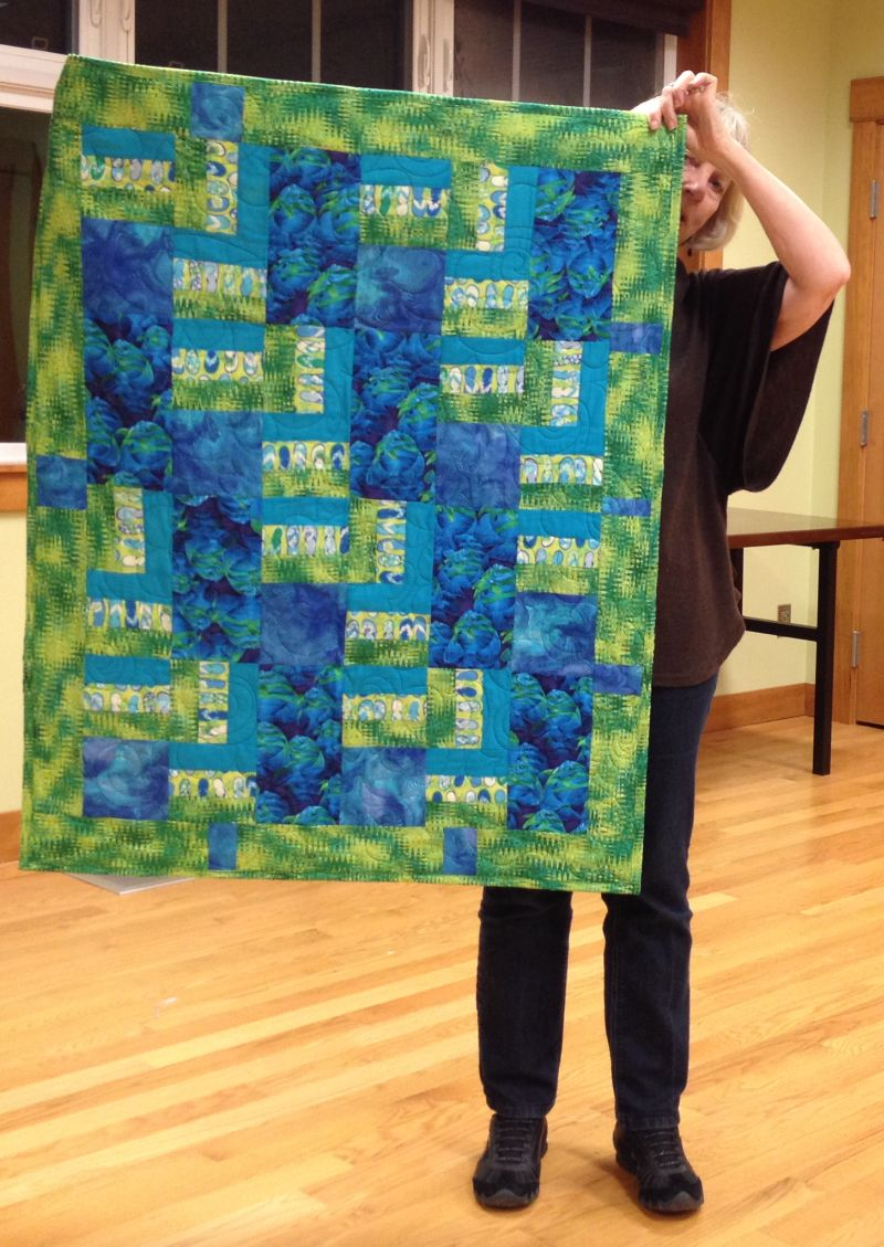 Infusion Center Quilt by Linda