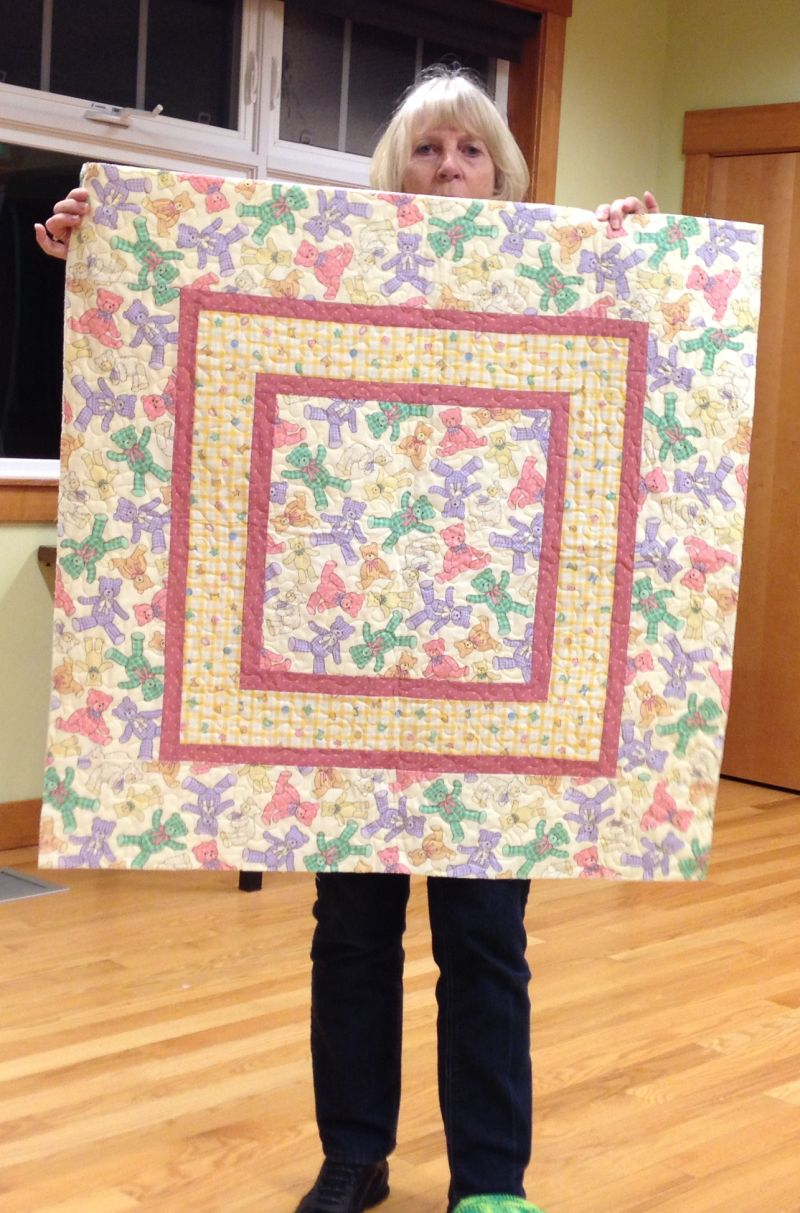 Baby Quilt by Linda