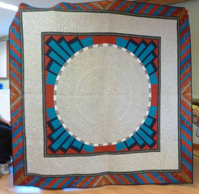Helene Knott Aztec Sun Calendar