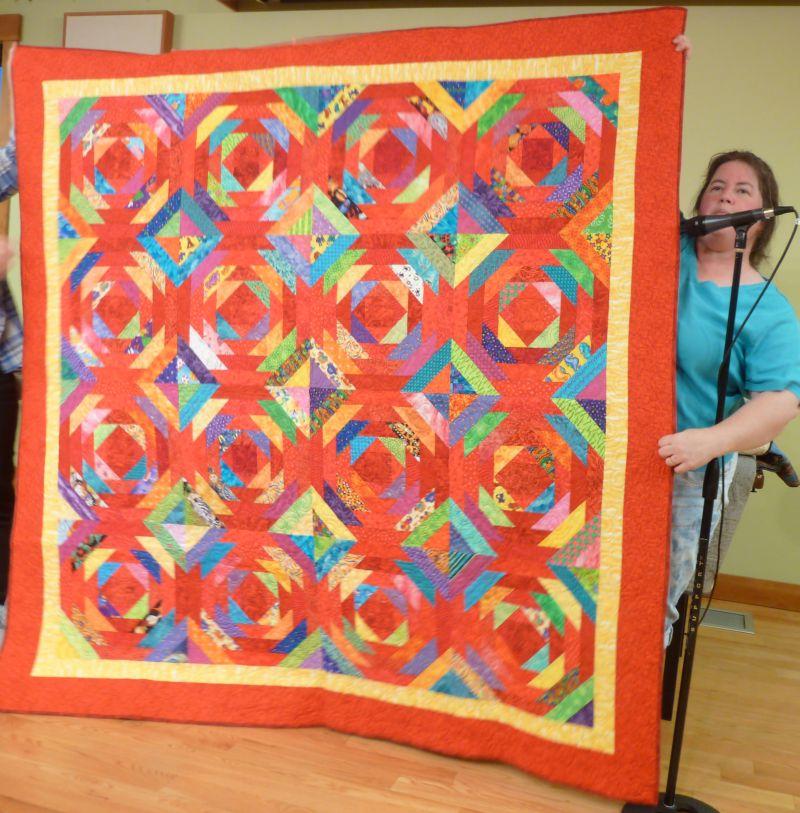 Karen O Daughter's quilt