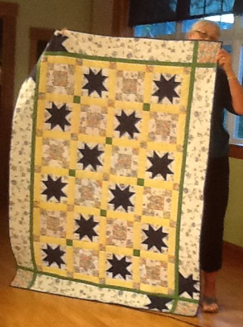 Jo H 2013 Mystery Quilt