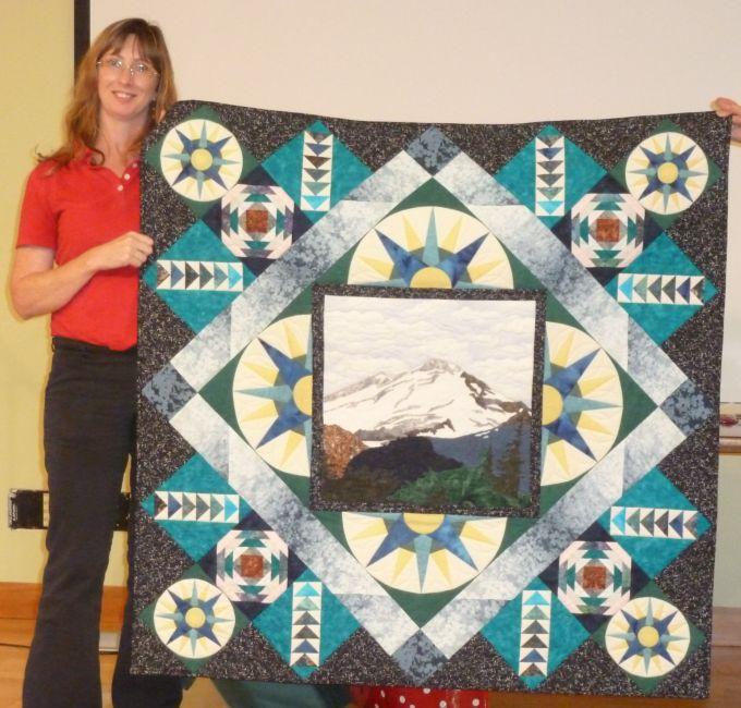 Sandra S.-Machine Quilting Award Winner