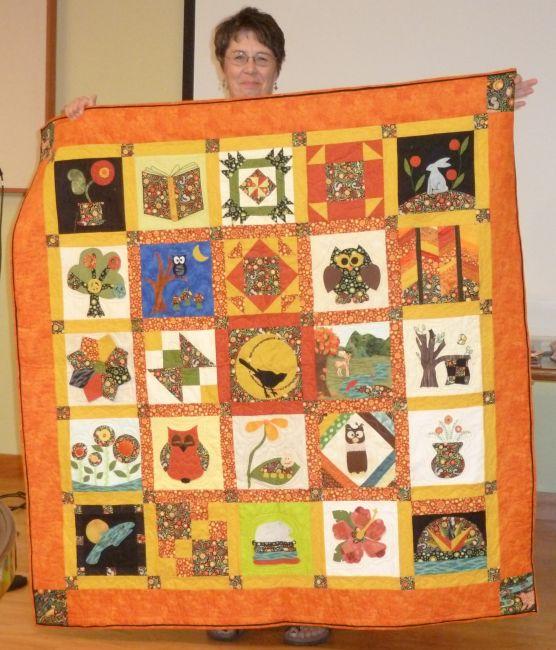 Jean M. 2009 Shop Hop Quilt