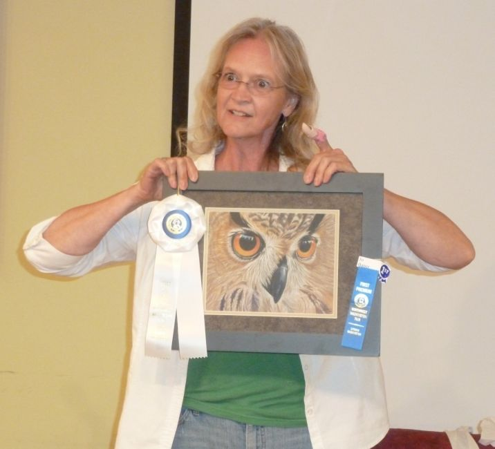 Jo B. Award Winning Drawing