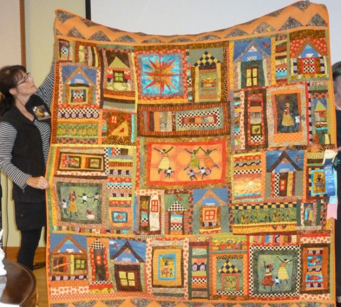Carrie U. -African Quilt-Best of Hand Quilting