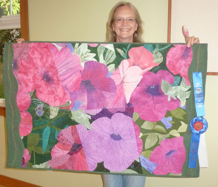 Jo B-Group Quilt Winnner