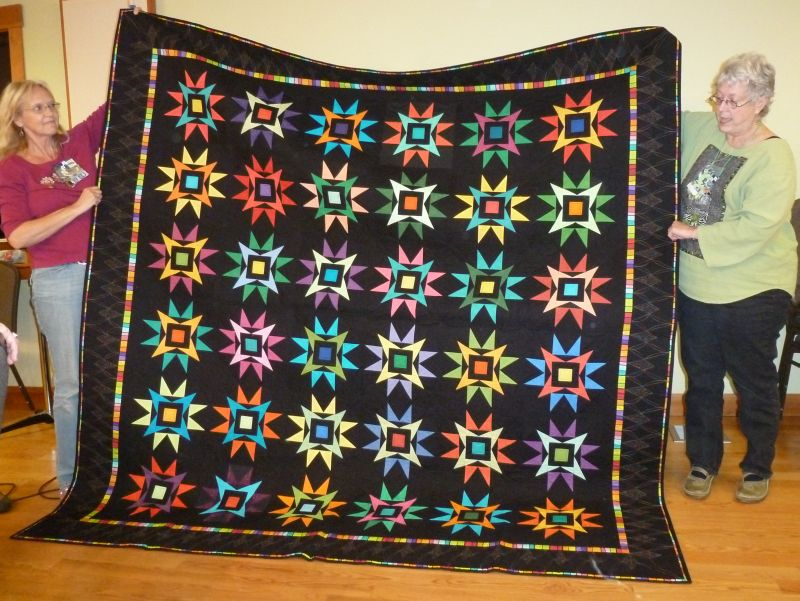 Evergreen Quilters Raffle Quilt