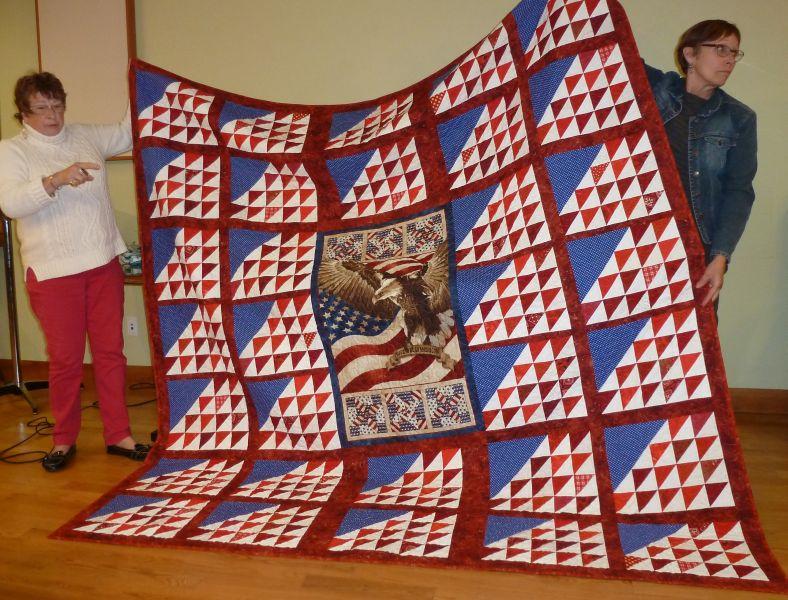 Rose-Clinton's Patriotic Quilt