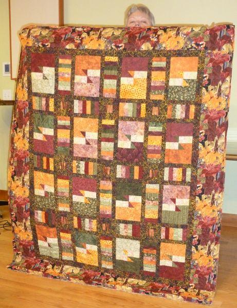 Barbara D-Autumn Splendor, Laurie Shifrin pattern