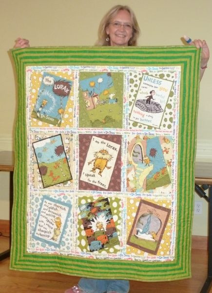 Jo B-A Lorax baby quilt
