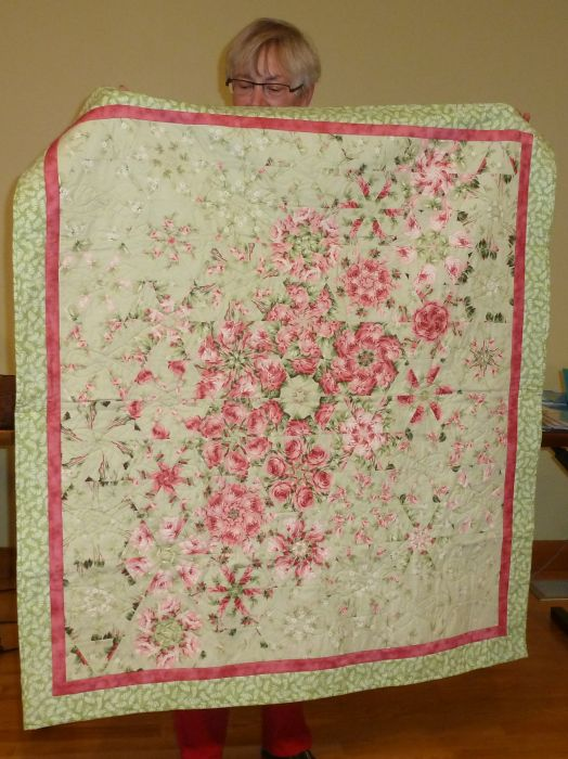 "Lynn ""Roses For You Everyday"" Chemo Quilt"