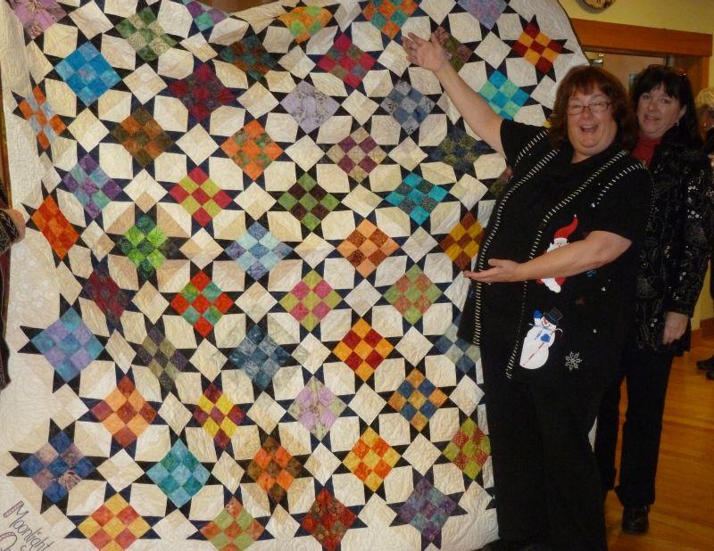Sharon & Her President's Quilt