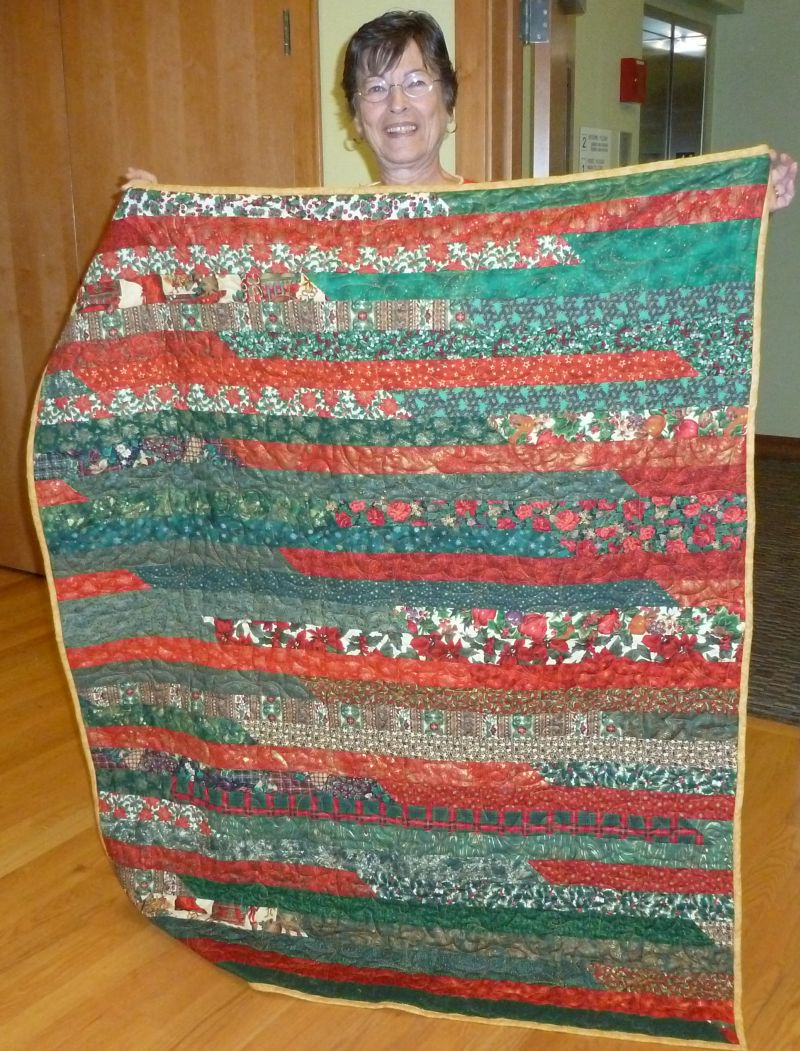 Judy K -Her Quilted Gift