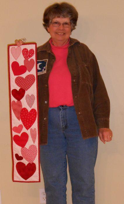 Linda C. - Heart Wall Hanging