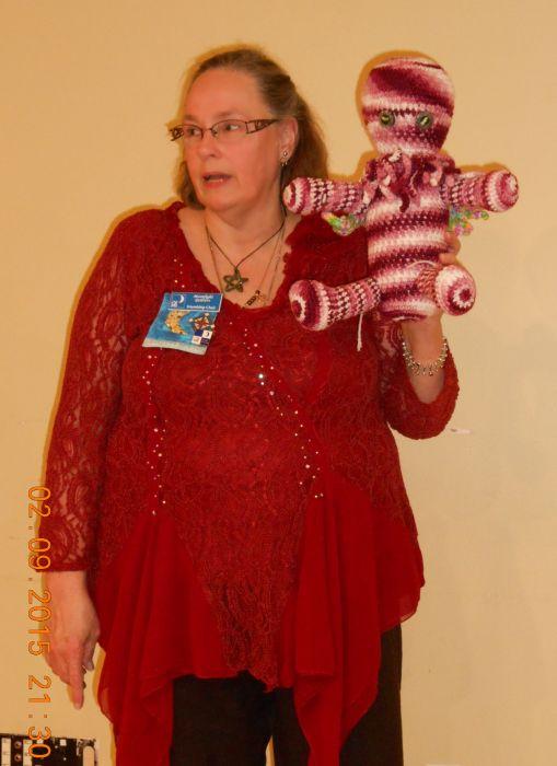 Donna C & Pink Cthulhu