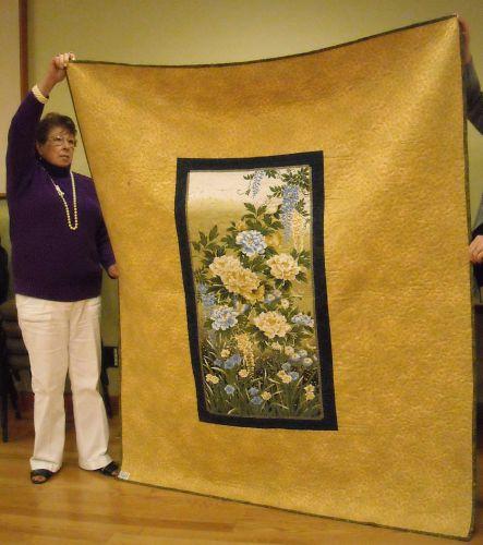 Rose T. - back side of quilt