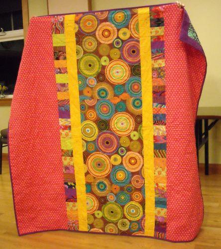 Anara T. - back side of quilt