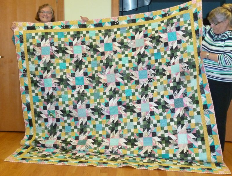 Val L. - Grand Illusion Mystery Quilt