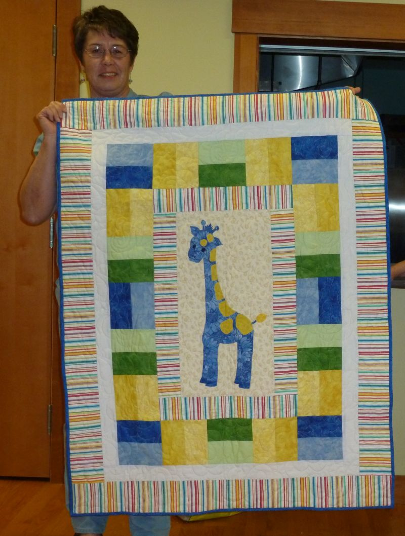 Jean M. - Giraffe baby quilt