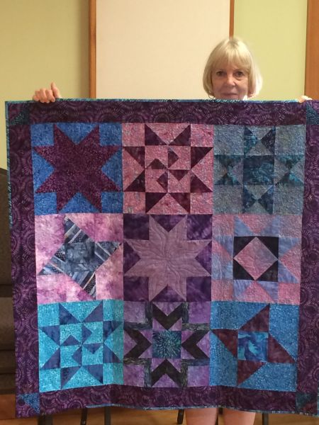 Linda S.-Retreat Block Quilt from Rosemary Heights 2013