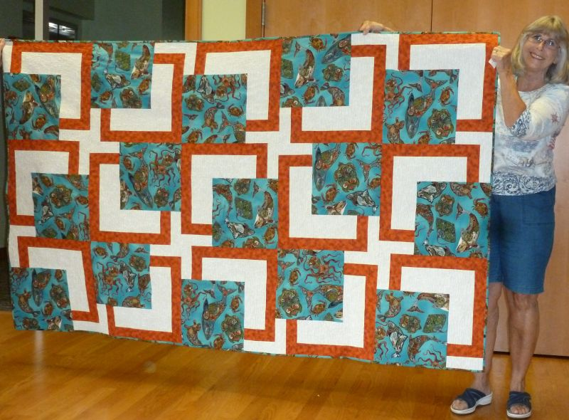 Linda C. BG Quilt for Tall friend