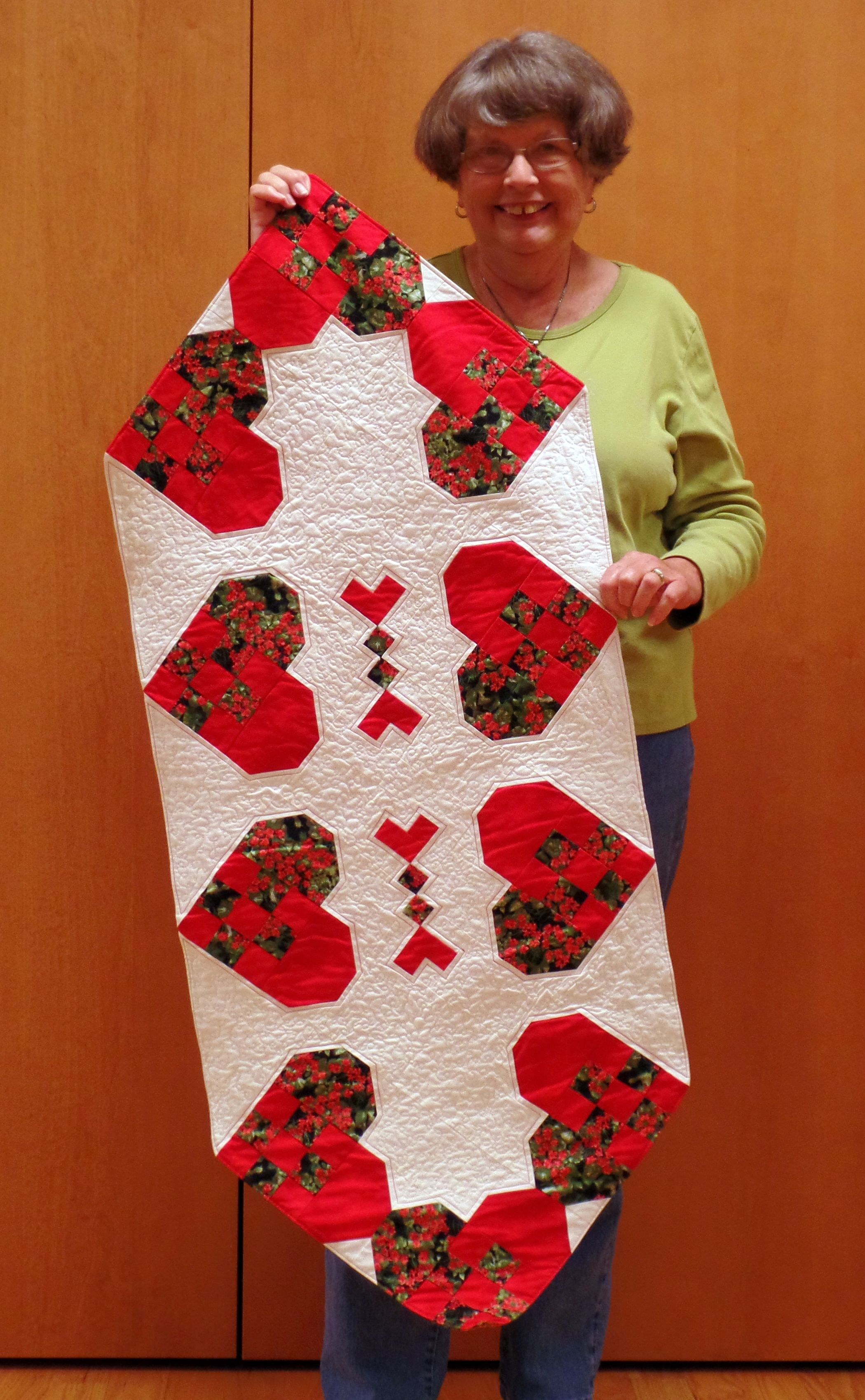 Linda C. - Hearts Table Runner