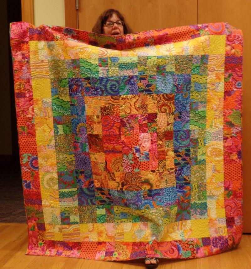 Debra J- Kaffe Fassett Fabric Quilt