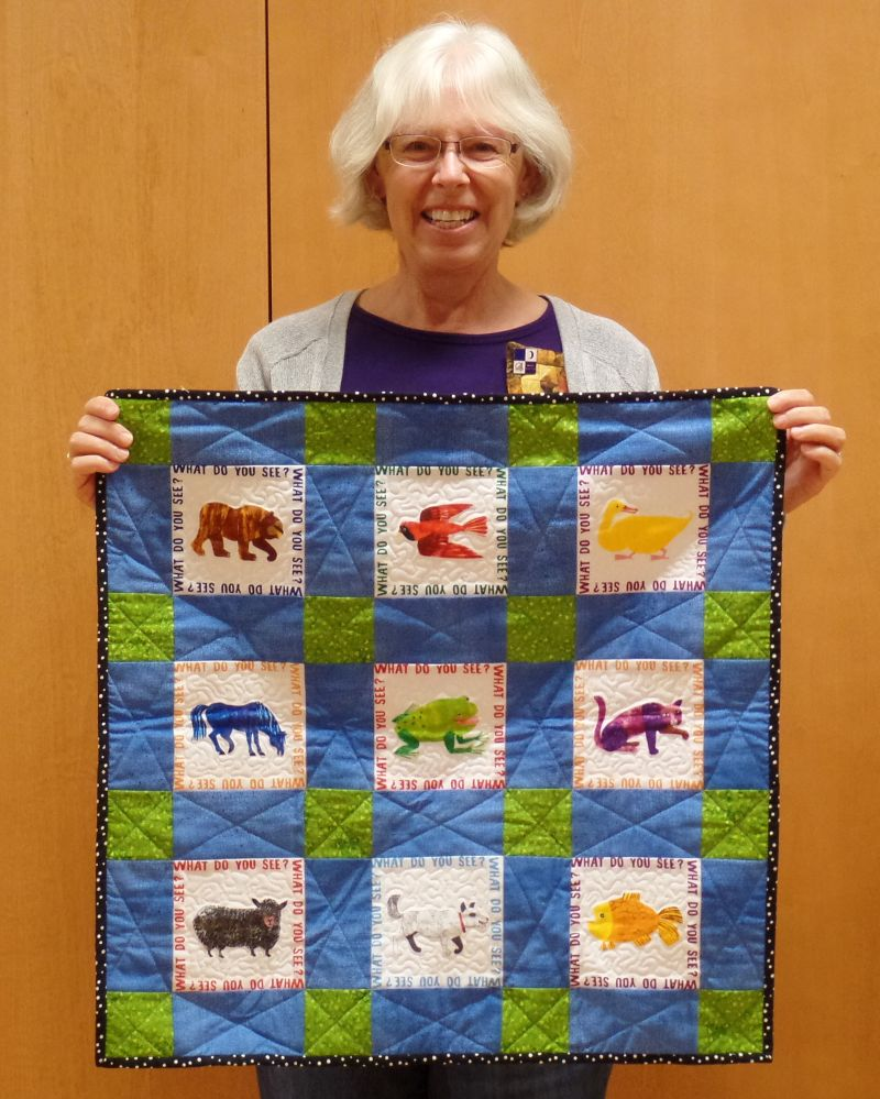 Linda F. - Brown Bear Quilt
