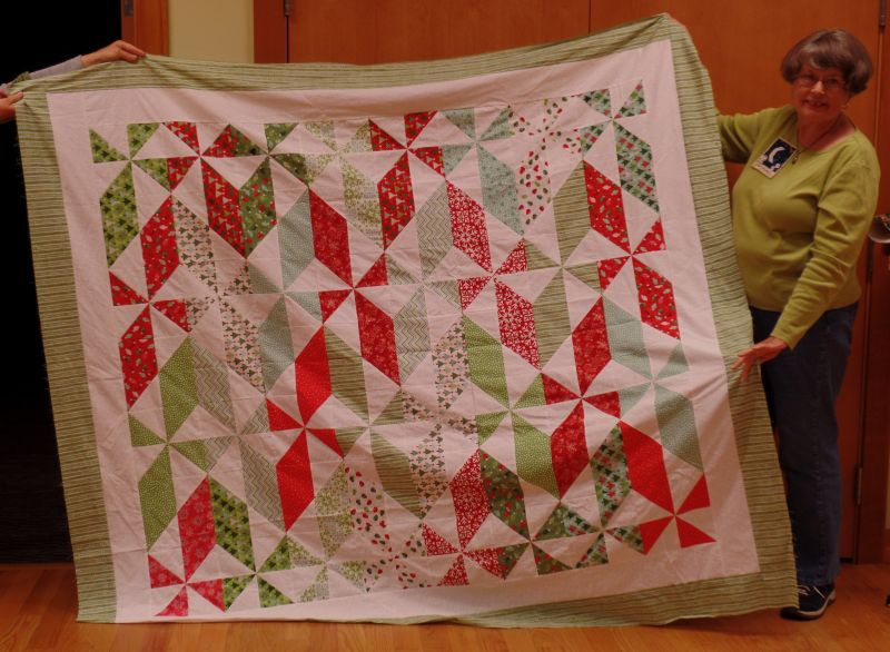 Linda C. - A Christmas Quilt, maybe . . .
