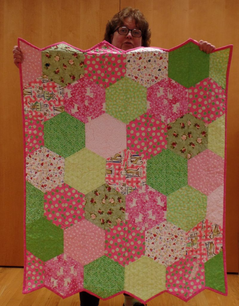 Judy J - Quilt for young visitor