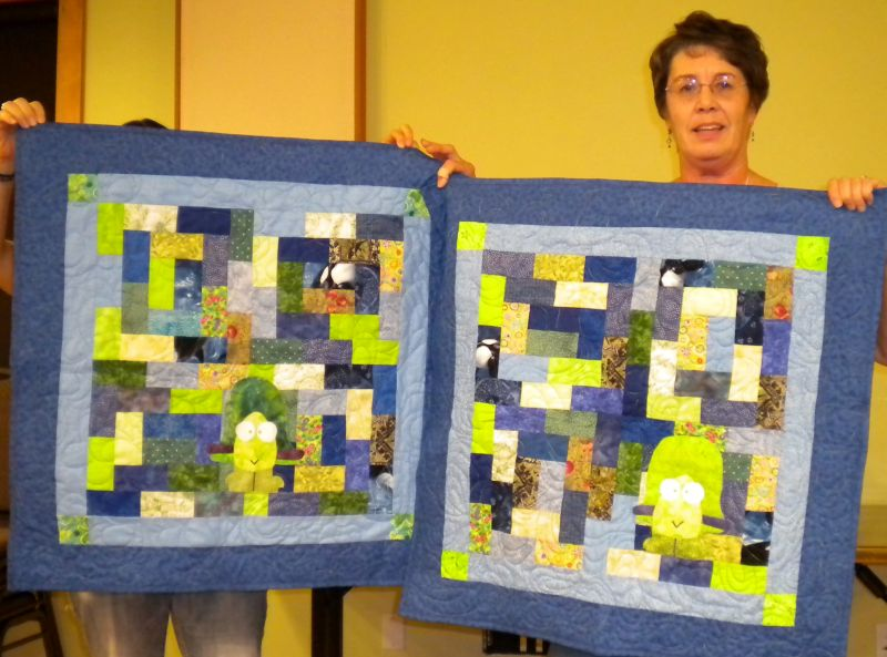 Jean M. - Two Turtle quilts for Skagit preemies