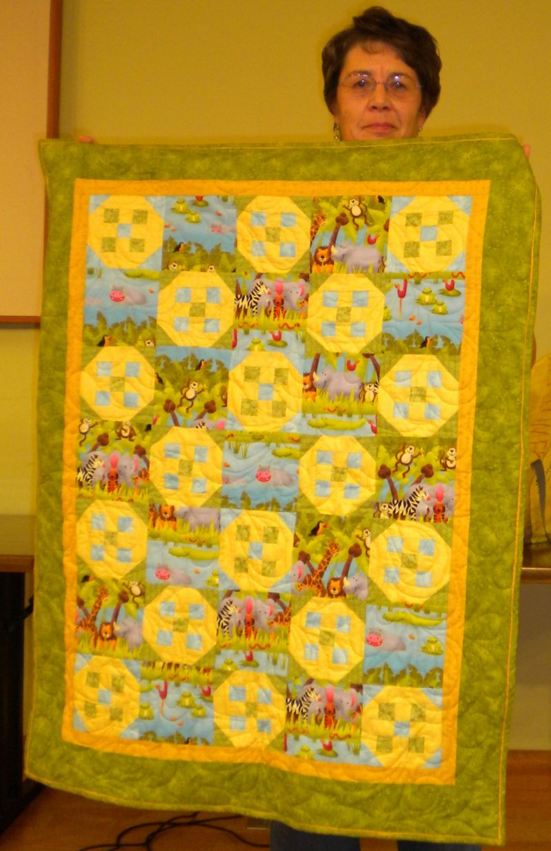 Jean M. - Baby Quilt for son's friend