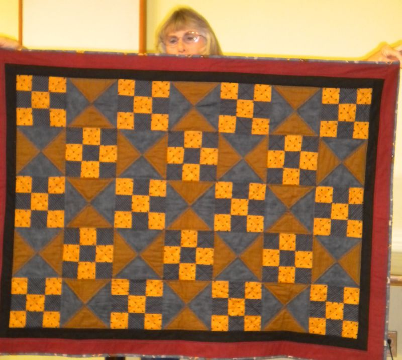 "Linda C. - ""Kay's Quilt"" started by Kay and completed by Linda"