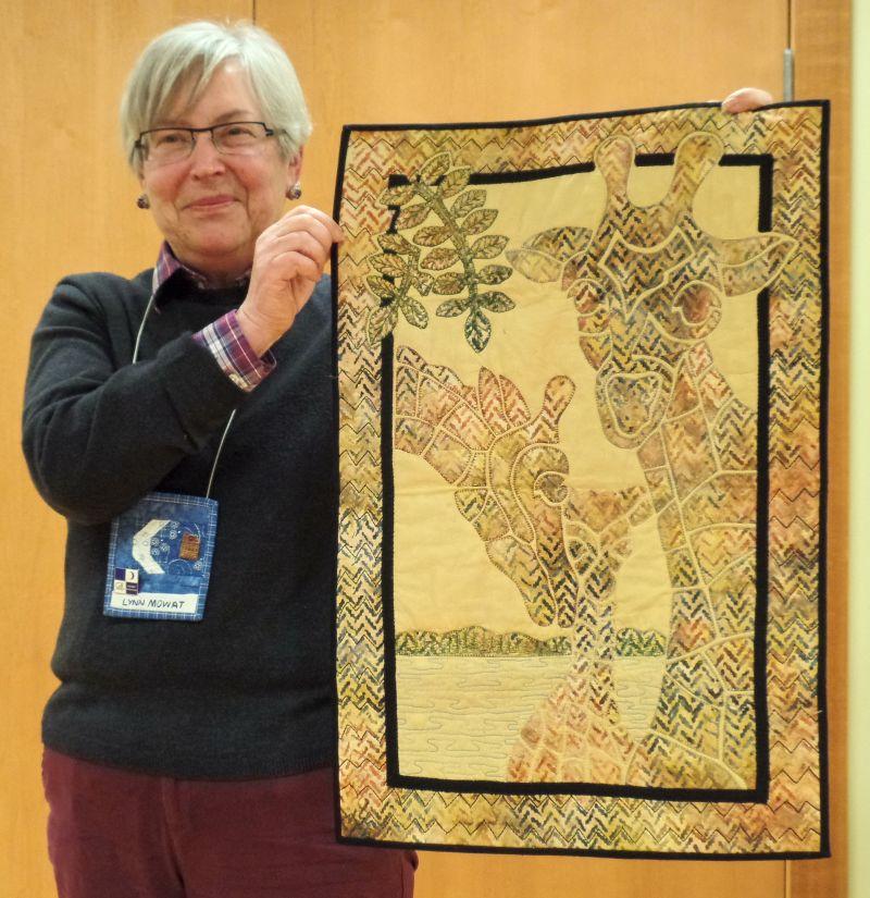 "Lynn M. - ""Giraffe Family"" Nancy Lee Chong design"