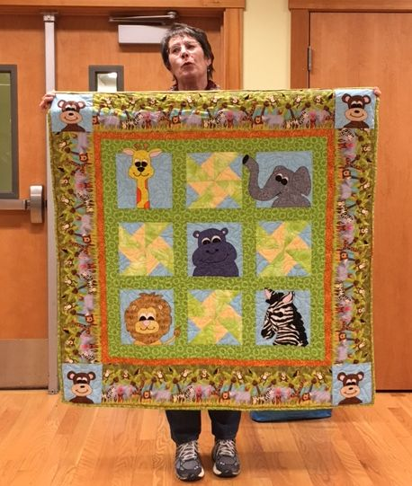 Baby Quilt by Joan M.
