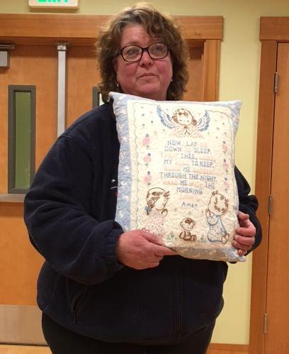 Pillow by Judy J.