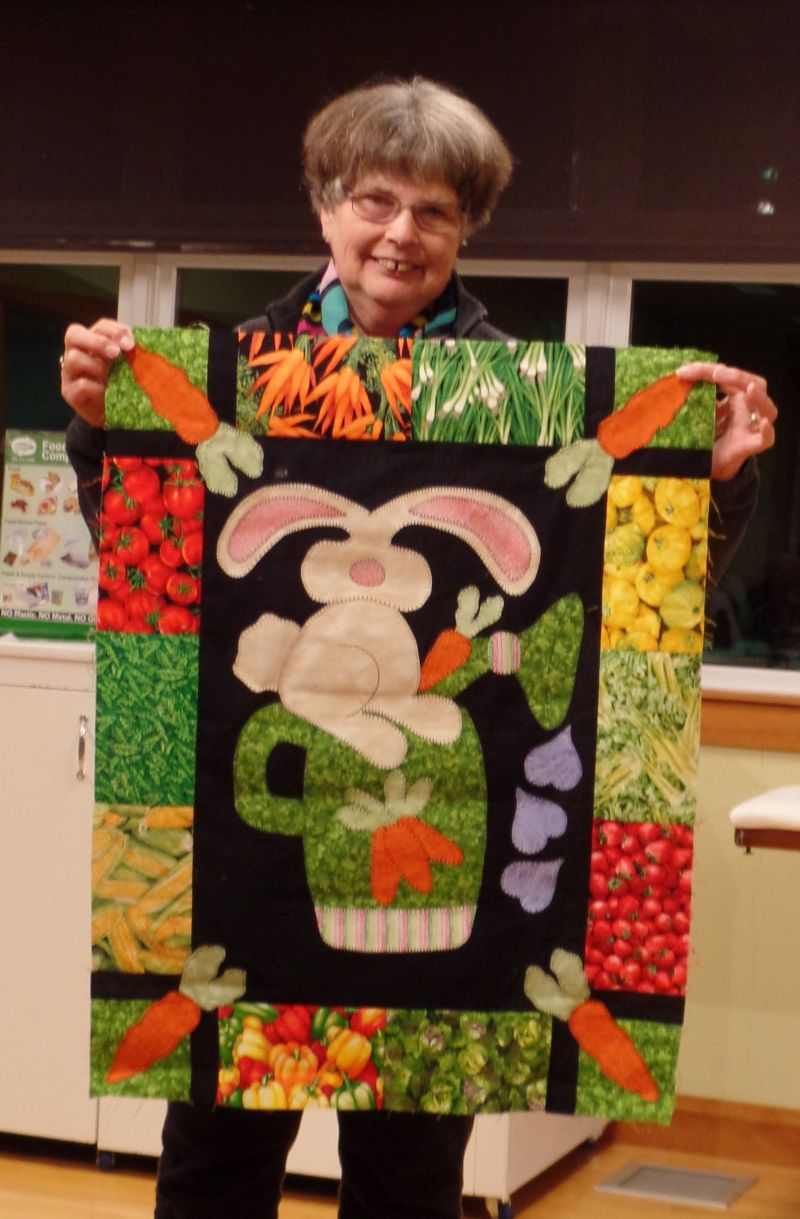 Linda C. made this Easter wall hanging