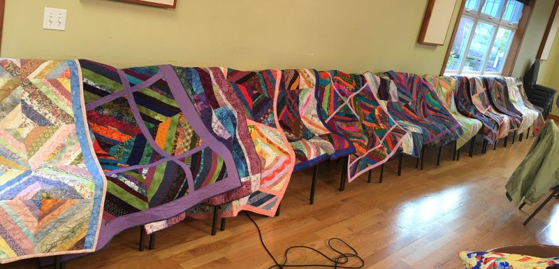 2015 Community Service Quilt Display