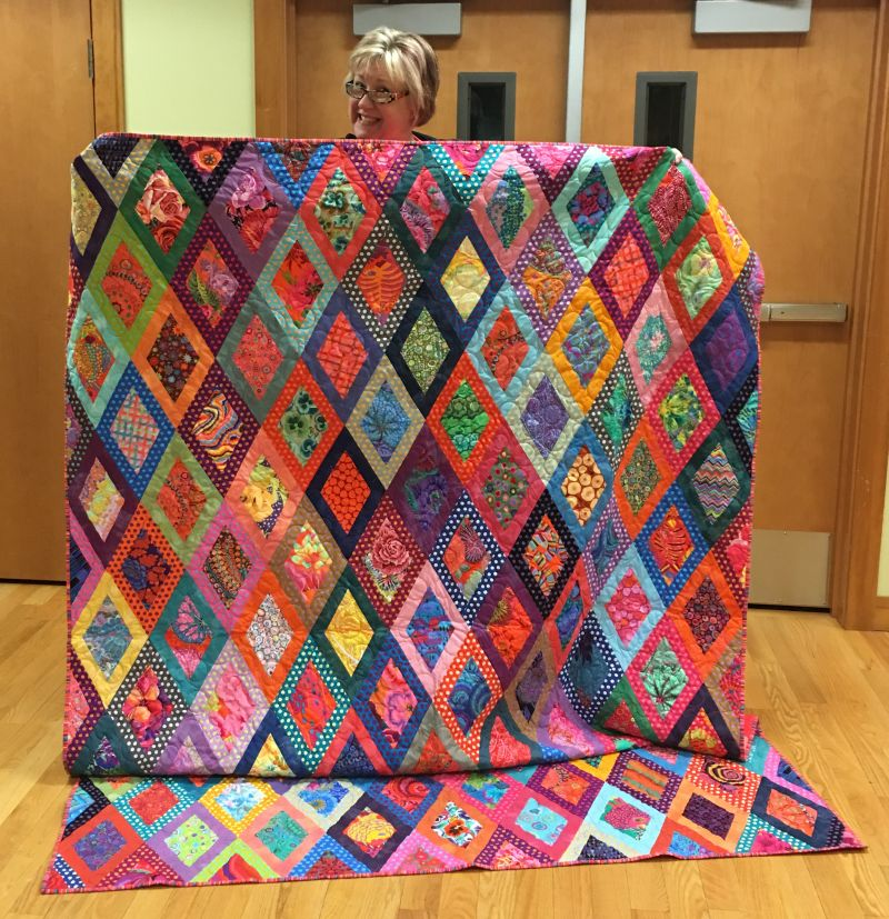 Tracey's Car Quilt