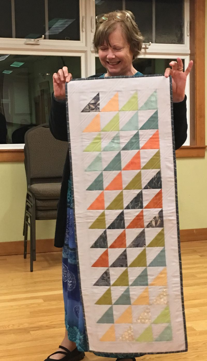 Sherry's Modern Table Runner