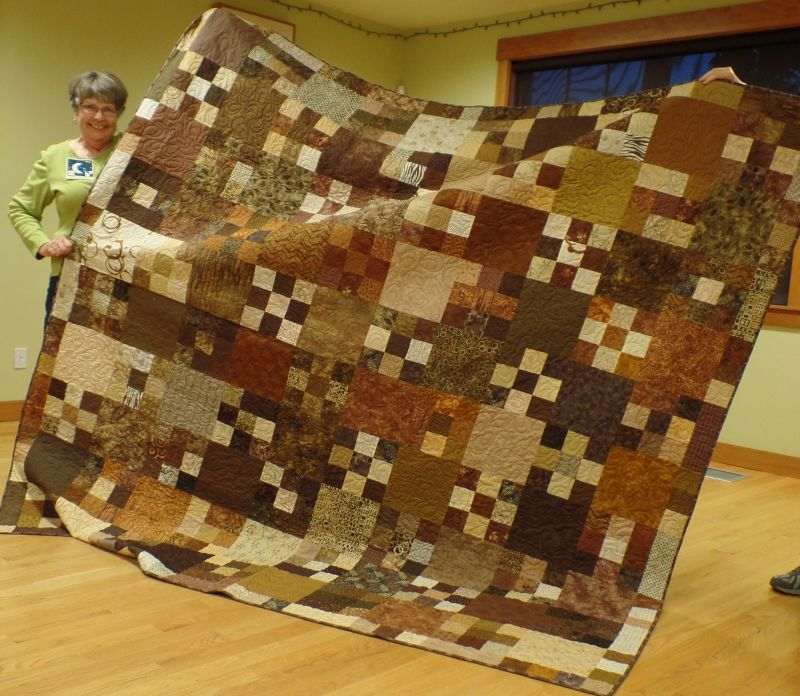 Linda C. - Friendship Quilt completed with thanks to all who make blocks!