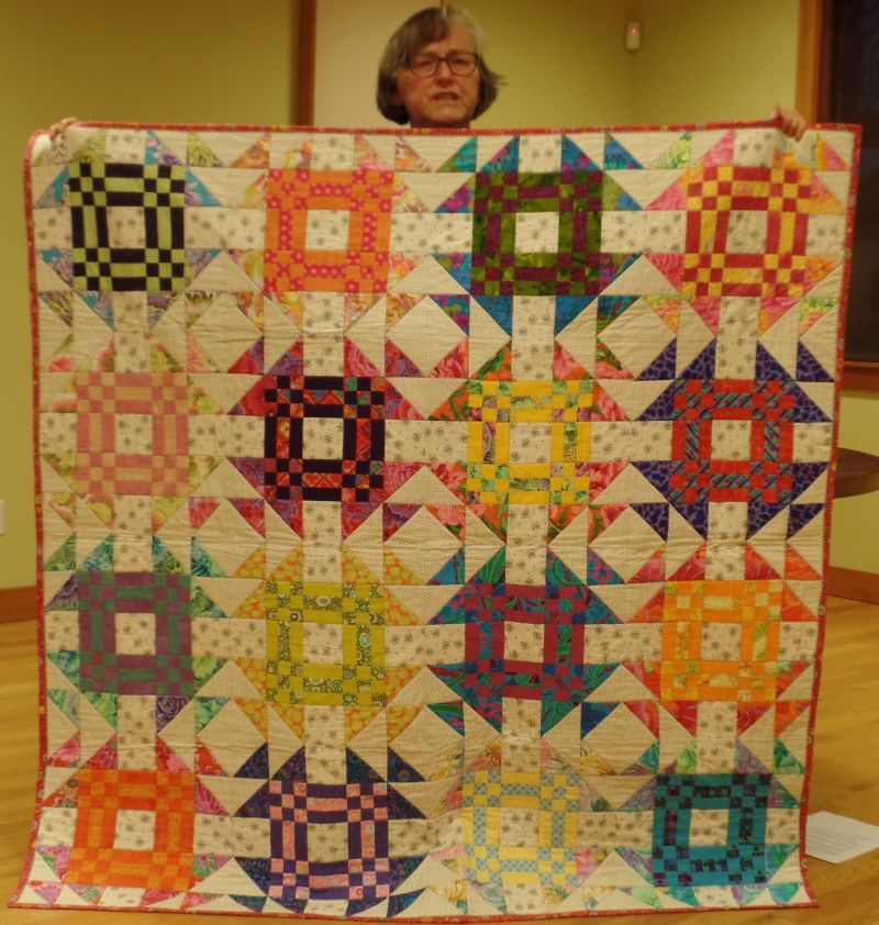 Val L. - Friendship Quilt from another guild