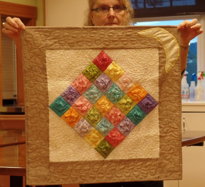 2016 Quilt Challenge - 1st Place by Juanita C.