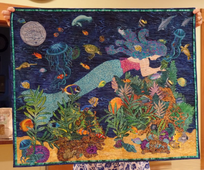 Quilt Challenge 2016 - 2nd Place by Donna C.