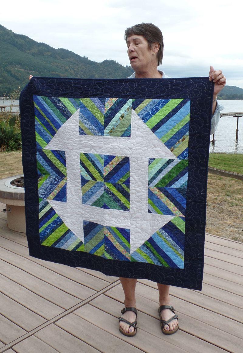 Jean's big block quilt