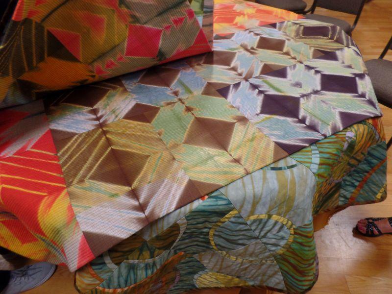 Shibori Quilts by Liz Axford